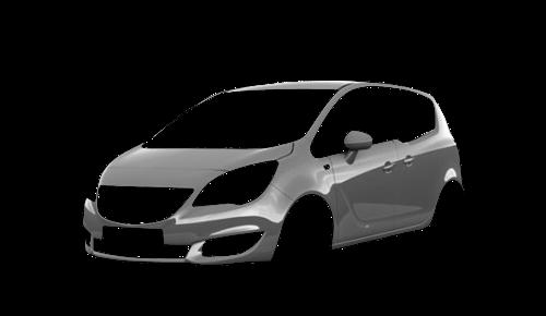 Цвета кузова Meriva B